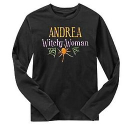 Personalized Witchy Woman Shirt