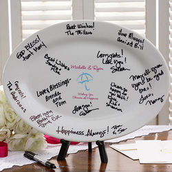 Personalized Showers of Happiness Signature Platter