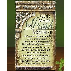 Irish Mother Plaque