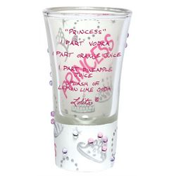 Princess Party Shot Glass
