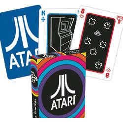 Atari Playing Cards