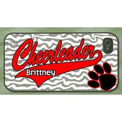 Cheerleader Personalized Cell Phone Case