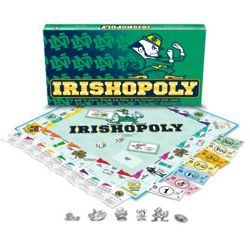 Notre Dame Fighting Irish Irishopoly Board Game