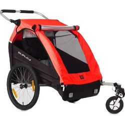 Double Honey Bee Bike Trailer with Stroller Kit
