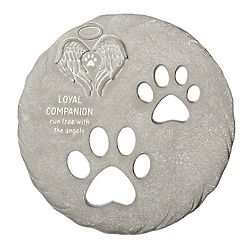 Loyal Companion Pet Memorial Garden Stone