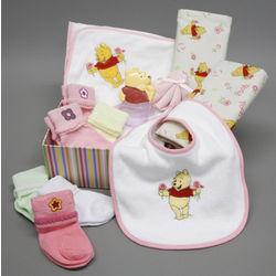 Baby Girl Winnie the Pooh Gift Box Set