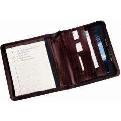 Convertible Left or Right Handed Leather Notepad