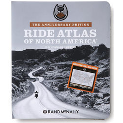 Harley Davidson North American Road Atlas - Anniversary Edition