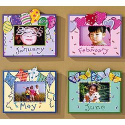 Whimsical Month Photo Frame