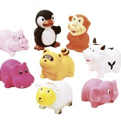 Baby's Bathtime Animal Squirties