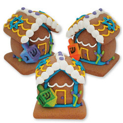 Mini Edible Hanukkah Houses