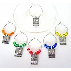 Army Wine Glass Charms