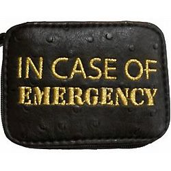 In Case of Emergency Pill Case