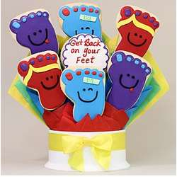 Get Back On Your Feet 7 Cookie Bouquet