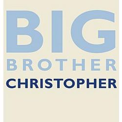 Personalized Big Brother Boy's T-Shirt