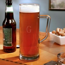 Have a Cold One Monogrammed Beer Mug