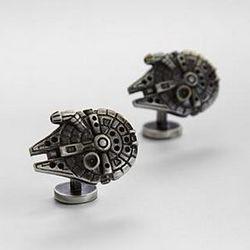 Millennium Falcon Star Wars Cuff Links