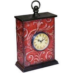 Antique Red Clock