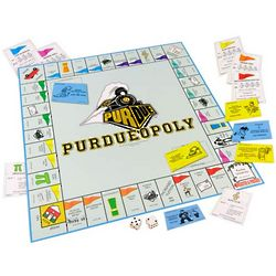 Purdue Boilermakers Purdueopoly Board Game