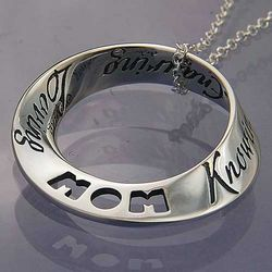 Attributes of Mom Infinity Necklace