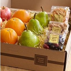 Simply Fresh Fruit and Snacks Gift Basket