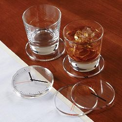Timeless Clock Coasters
