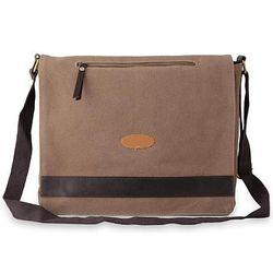 Women's Indian Brown Laptop Messenger Bag
