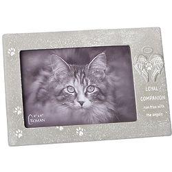 Loyal Companion Faux Stone Pet Memorial Frame