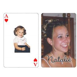 Graduation Custom Photo Playing Cards