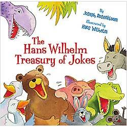 The Hans Wilhelm Treasury of Jokes Hardcover Book