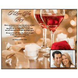 I Love You Romantic Personalized Love Poem