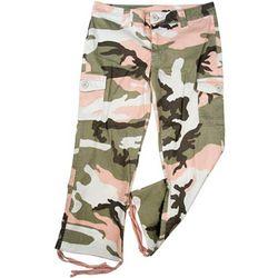 Girls' Subdued Camo Vintage Capri Pants