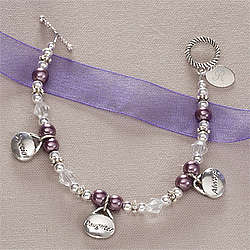 Girls Personalized Bracelet - Special Daughter