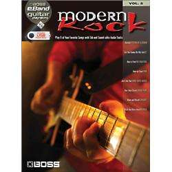 Hal Leonard Modern Rock Guitar Play Along Book Volume 5