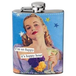 Happy Hour Hip Flask
