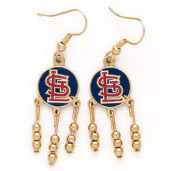 St. Louis Cardinals STL Dangle Earrings
