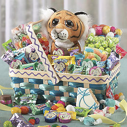 Tiger Candy Gift Basket