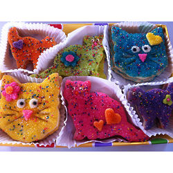 Cat Lovers Sugar Cookie Gift Box