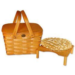 Ash Wood Pie Basket