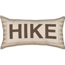 Words to Hold on to Hike Pillow
