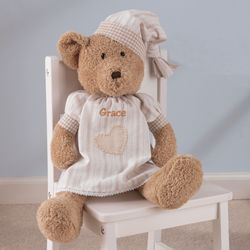 Girl Personalized Naptime Teddy Bear