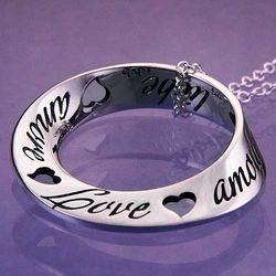 Love in 10 Languages Necklace