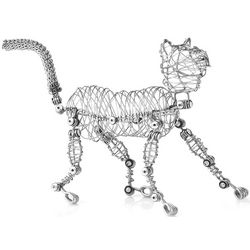Whiskers the Doodle Cat Figurine