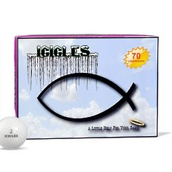 Christian Fish Ichthys Golf Balls