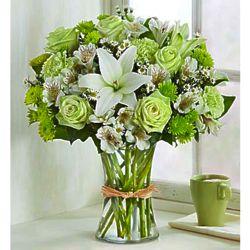 Large Serene Green Bouquet