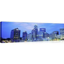 Charlotte NC Photo Print on Canvas