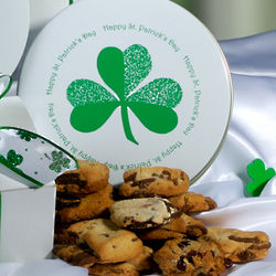 St. Patrick's Day Cookie Gift Tin of 2 Dozen