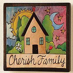 Cherish Family Plaque