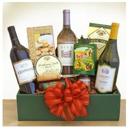 Trio Delights Wine Gift Box