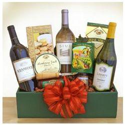 Trio Delights Wine Gift Box